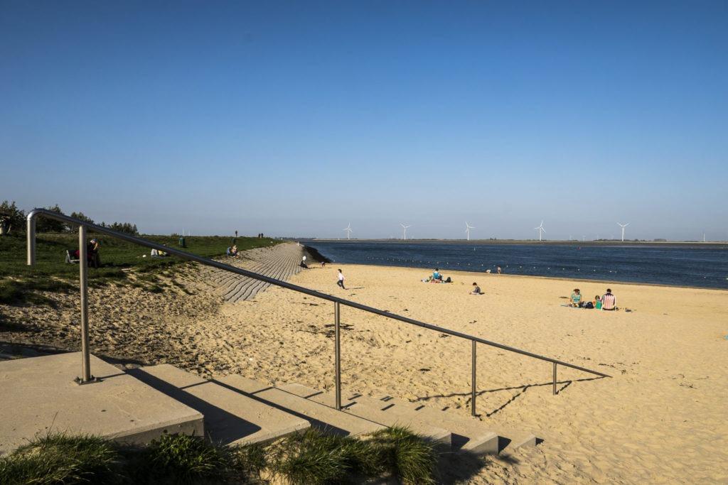 Strand Chaletpark de Krabbenkreek.